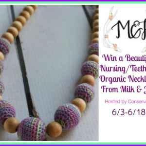 Milk & Joy Nursing Organic Teething Necklace Giveaway ends