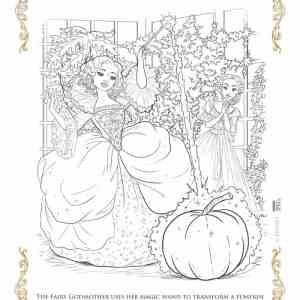 Disney's Cinderella Coloring Pages