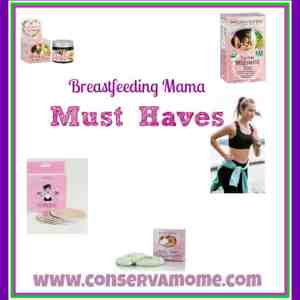 Breastfeeding Mama Must Haves!