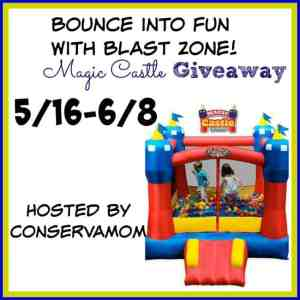 Blast zone Magic Castle Giveaway ends on 6/8