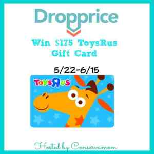 Dropprice & Win $175 Toys R US Gift card ends 6/15!