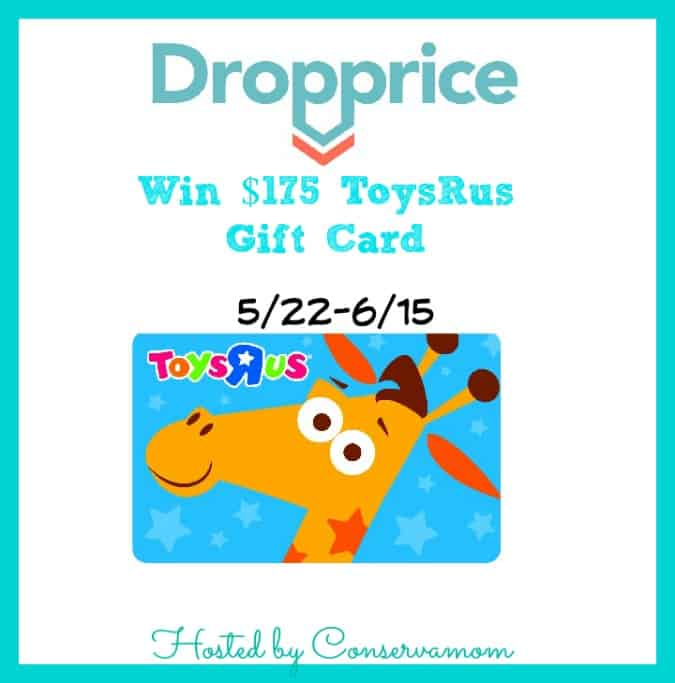 DropPrice $175 Toys R Us Gift Card Giveaway