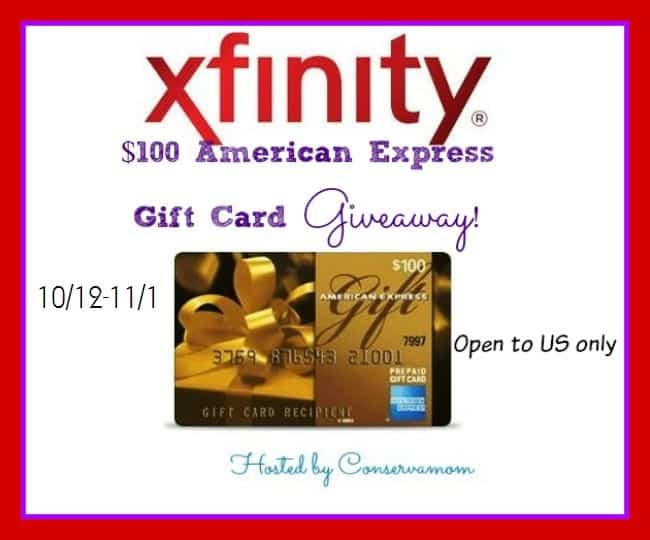 Xfinity Fall TV Schedule + A $100 AMEX Gift Card Giveaway