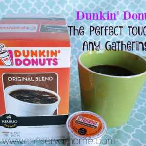 Dunkin' Donuts ® The Perfect Touch To Any Gathering #DunkintotheRescue