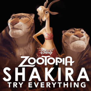 New Shakira Music Video from the Disney's Zootopia