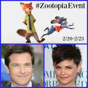 Follow Me On #ZootopiaEvent for Disney's Zootopia!