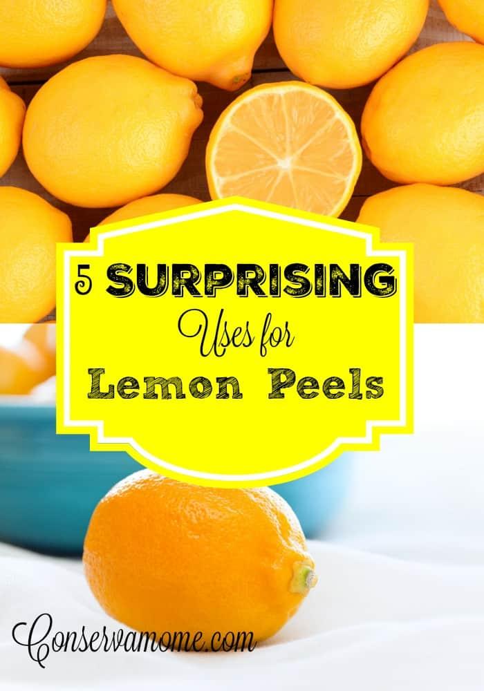 Lemons aren't just for Lemonade here are 5 Surprising Uses for Lemon Peels that are going to make life easier.