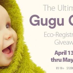 HUGE EcoFriendly Prize Pack from Gugu Guru Worth $1200 ends  5/4