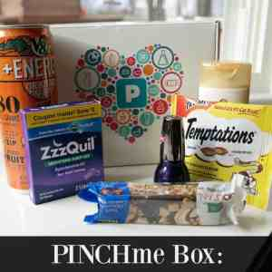 PINCHme Box: Full Size Samples, Delivered Free to Your Door!