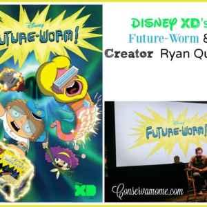 Disney XD's Future-Worm & Creator Ryan Quincy