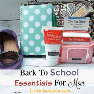Back to School Essentials For Mom #LetsSolveIt