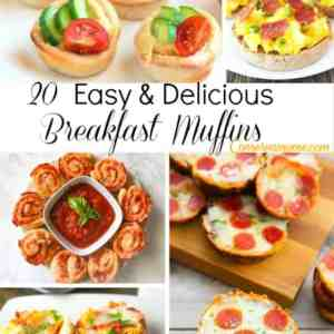 20 Easy & Delicious Breakfast Muffins