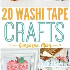 25 Washi Tape Crafts