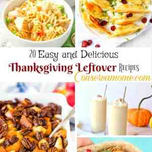 20 Easy and Delicious Thanksgiving Leftover Recipes