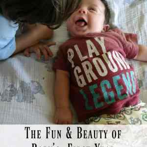 The Fun & Beauty of  Baby's First Year #WaterWipesMom