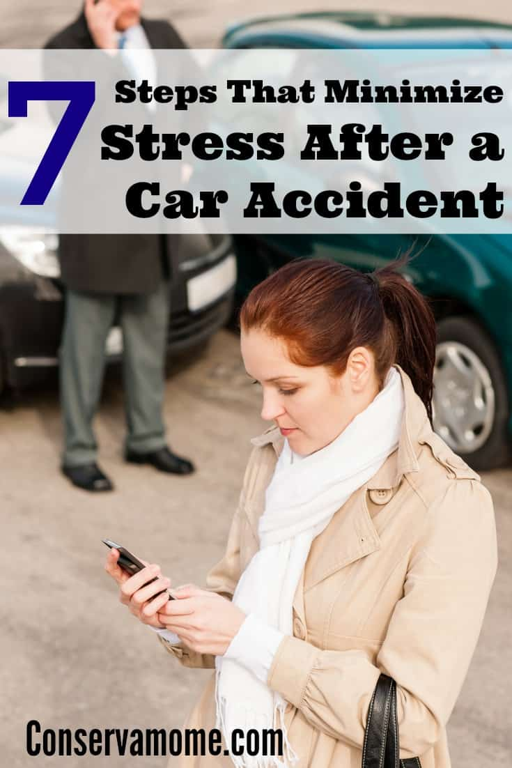 minimize stress after a car accident