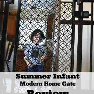 Summer Infant Modern Home Gate Review