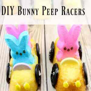DIY Bunny Peep Racers