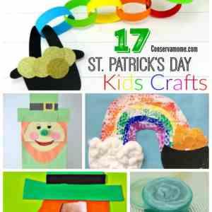 17 St. Patrick's Day Kids Crafts