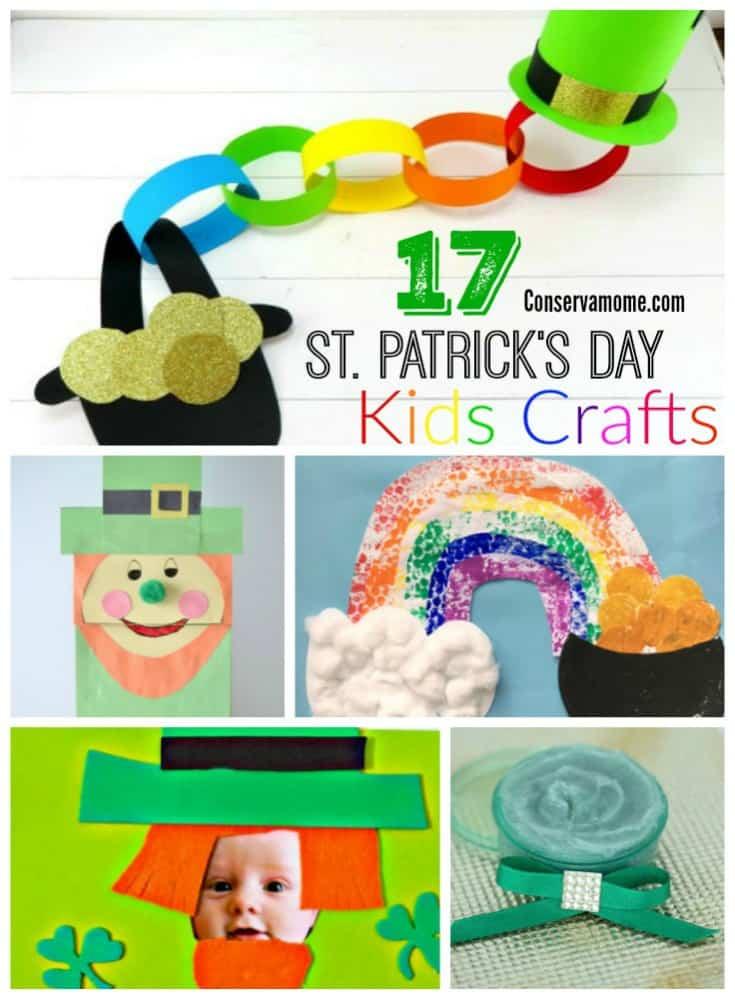St.Patrick's Day Kids Crafts