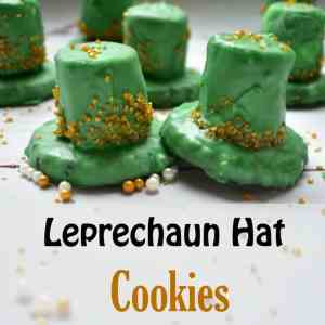 Leprechaun Hat Cookies