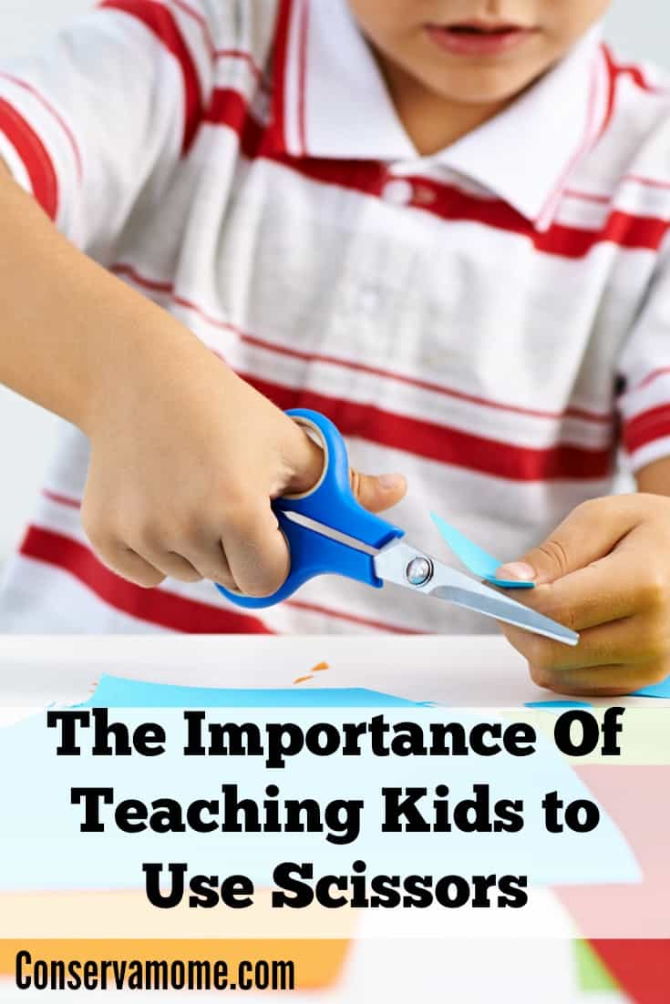 Teaching Kids to Use Scissors
