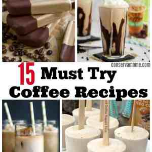 15 Must Try Coffee Recipes