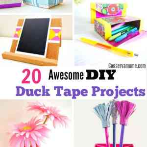 20 Awesome DIY Duck Tape Projects