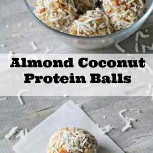 Almond Coconut Protein Balls Recipe