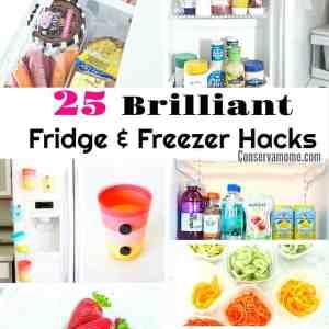 25 Brilliant Fridge & Freezer Hacks