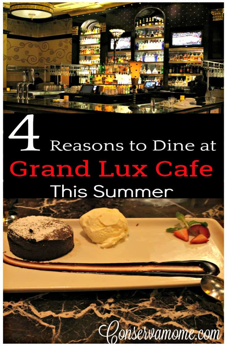 When you visit Grand Lux Cafe you'll realize why there's more than 4 reasons to visit. Check out the foods and fun you'll have when you visit.