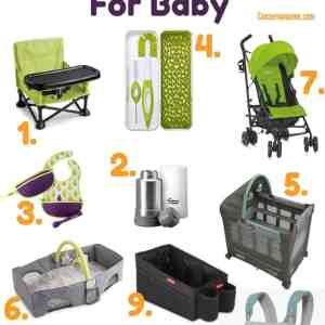Summer Travel Essentials for Baby