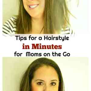 Tips for a Hairstyle in Seconds for a Mom on the Go