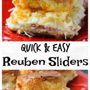Quick & Easy Reuben Sliders
