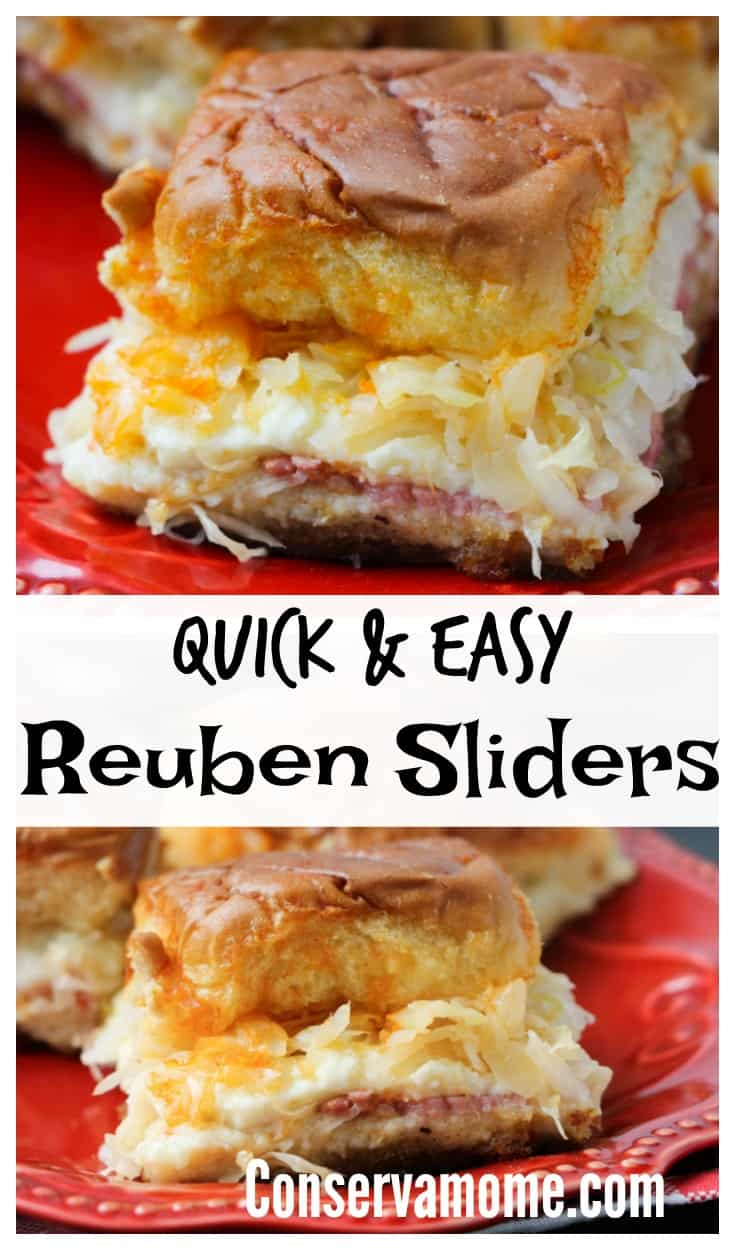 This delicious Reuben Slider recipe will be a huge hit at any gathering or party. Best of all it's so easy to make you'll wonder why you never tried it before!