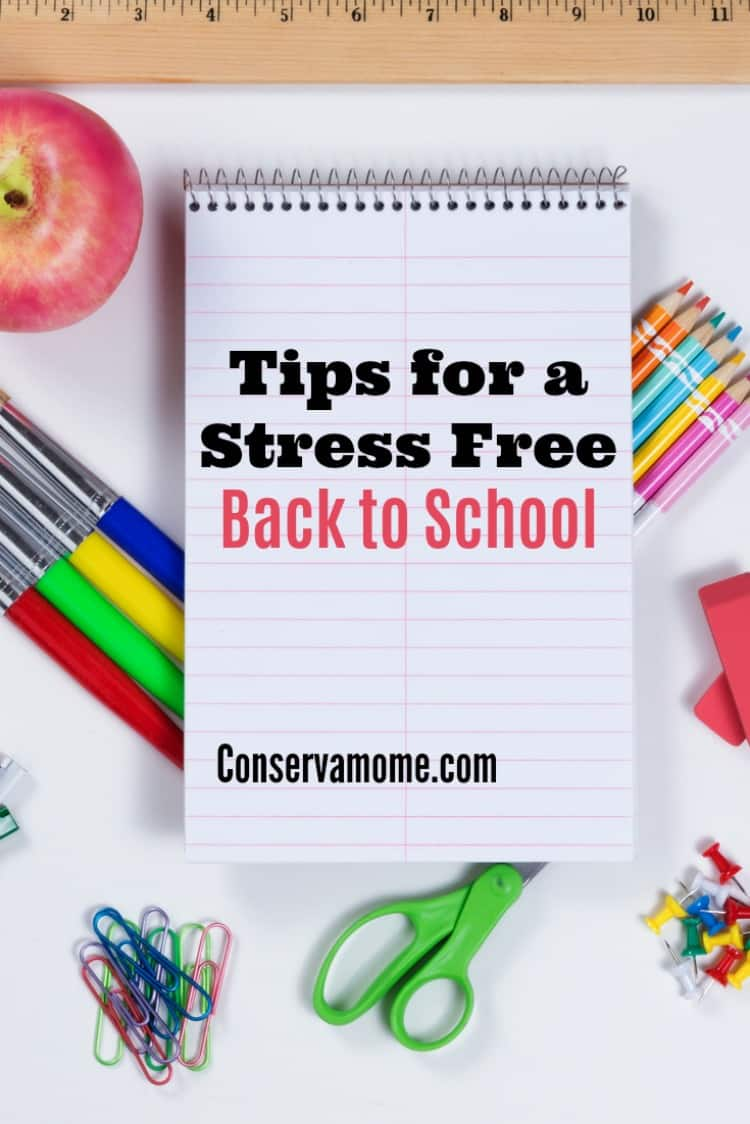 Back to school time can be pretty stressful for all. Here are some tips for a stress free back to school to help keep you healthy.