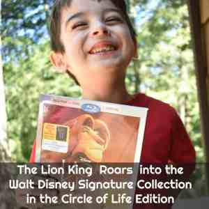 THE LION KING Blu-Ray,DVD & Digital Collection is Here + Giveaway