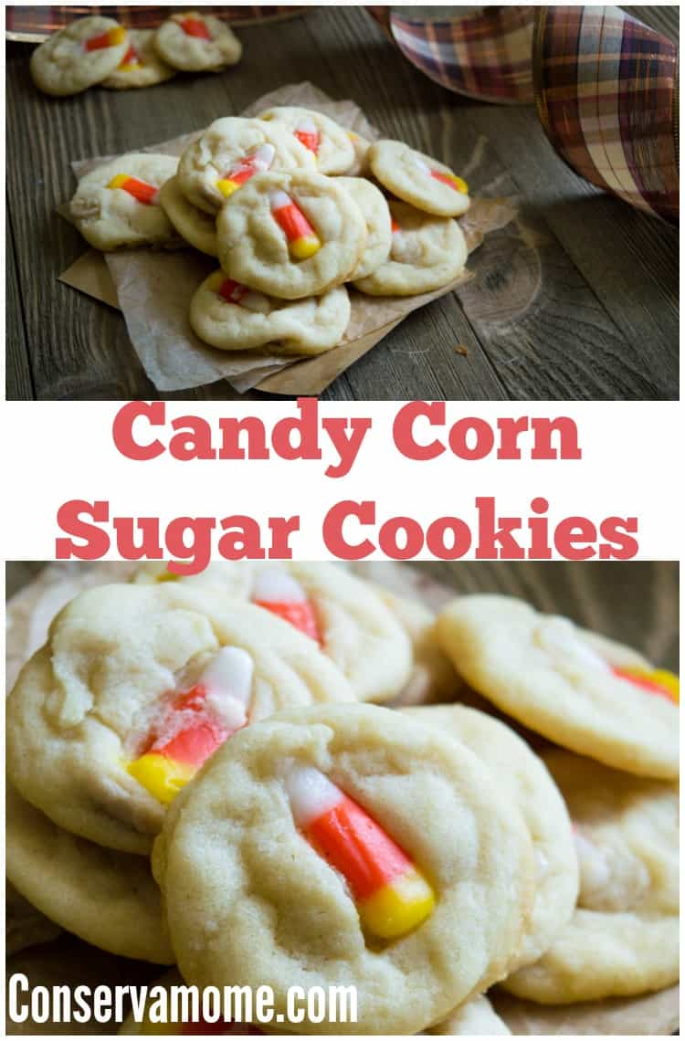 Candy Corn is synonymous with fall. Here's the perfect way to combine the delicious flavors of fall with a tasty cookie treat, Candy corn Sugar cookies!
