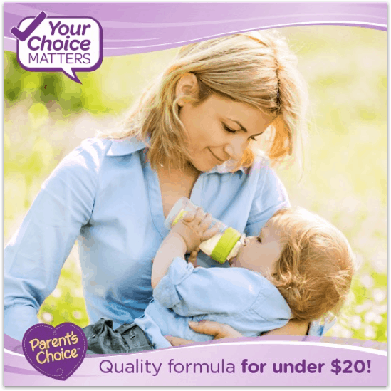 Baby's First Year is Stressful Enough, Don't let feeding them Be one of Your Stressors! #ParentsChoice