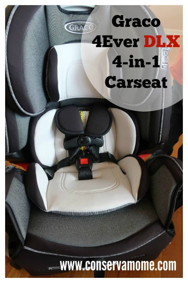 Graco 4Ever DLX 4in1 Car Seat Review  ConservaMom