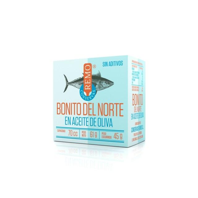 Bonito del Norte en Aceite de Oliva. Lata 61 g