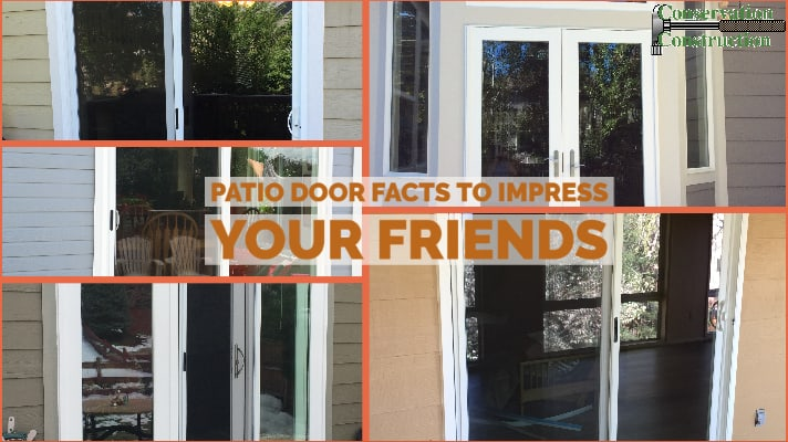 patio door facts conservation