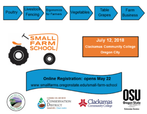 Join us for the 7th Annual Small Farm School.