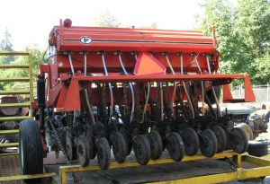 6-foot no-till drill, other view