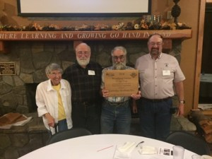 2018 CCFFA Woodland Farmers of the Year: Guttridge Brothers, Inc., Wilma, with sons Rob, Gary, and Don (not pictured: Alan and Tim).