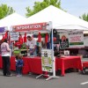 Photo of Oregon City Farmers Market information booth