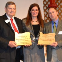 Ron Graves, Katy Coba, and Tom Salzer