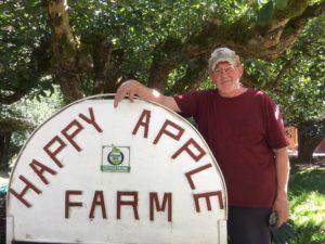 Director emeritus Ron Oberg is an organic farmer in Oregon City.