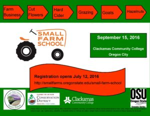 Small Farm School flyer 2016-2