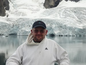 Klock's travels have taken him to both the Arctic and the Antarctic.